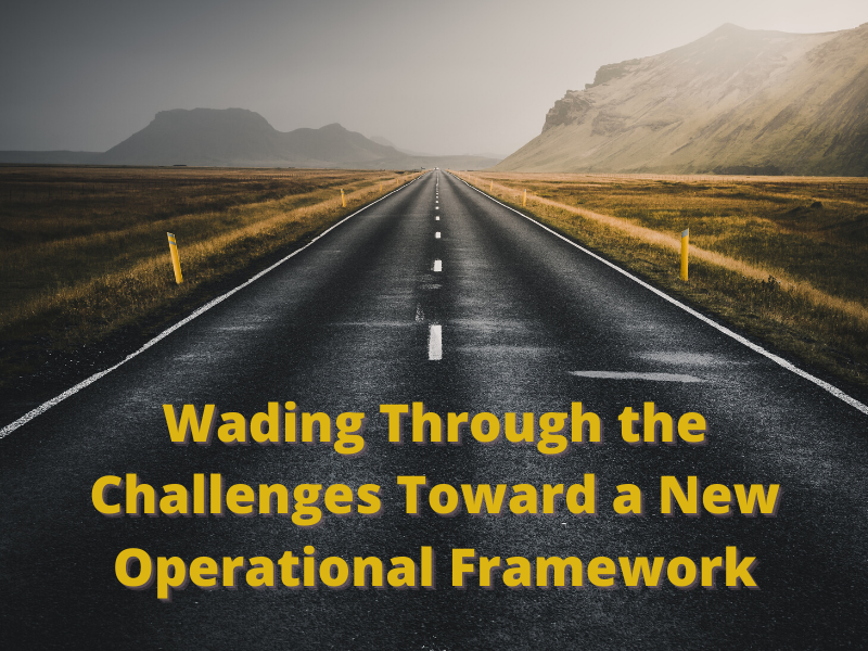 Wading Through the Challenges Toward a New Operational Framework (2)